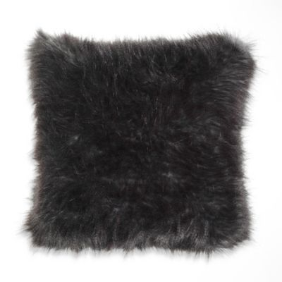 Kenneth Cole Reaction Home Haze Faux-Fur Square Toss Pillow
