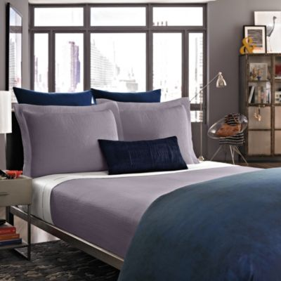 Kenneth Cole Reaction Home Haze Coverlet Sham