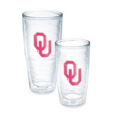 Tervis® University of Oklahoma Emblem Tumbler in Neon Pink