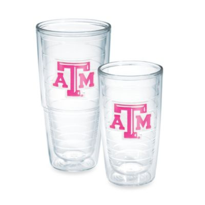 Tervis® Texas A & M University Emblem 16-Ounce Tumbler in Neon Pink