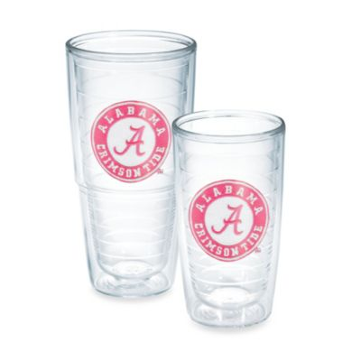 Tervis® University of Alabama Emblem Tumbler with Lid in Neon Pink