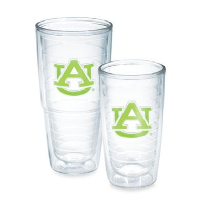 Auburn University 16-Ounce Tumbler in Neon Green