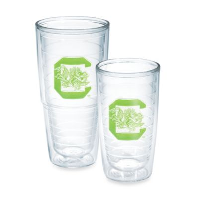 Tervis® University of South Carolina 16-Ounce Tumbler in Neon Green