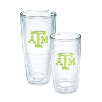 Tervis® Texas A&M 16-Ounce Emblem Tumbler with Lid in Neon Green