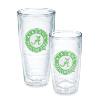 Tervis® University of Alabama 16-Ounce Emblem Tumbler with Lid in Neon Green