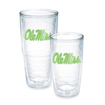 Tervis® University of Mississippi 16-Ounce Emblem Tumbler in Neon Green