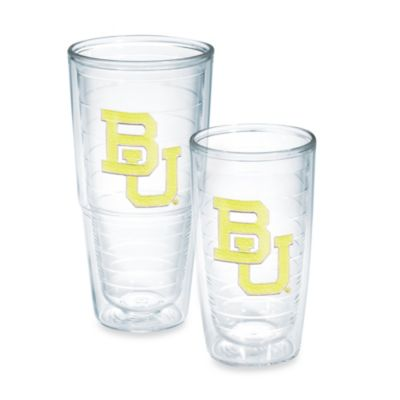 Baylor University Tumbler in Neon Yellow