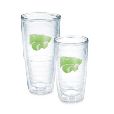 Tervis® Kansas State University Emblem Tumbler in Neon Green