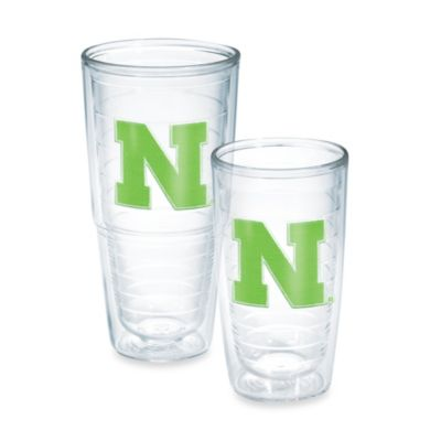 Tervis® University of Nebraska 24-Ounce Emblem Tumbler in Neon Green