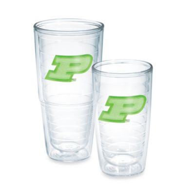 Tervis® Purdue University 16-Ounce Emblem Tumbler in Neon Green