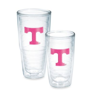 Tervis® University of Tennessee 16-Ounce Emblem Tumbler in Neon Pink