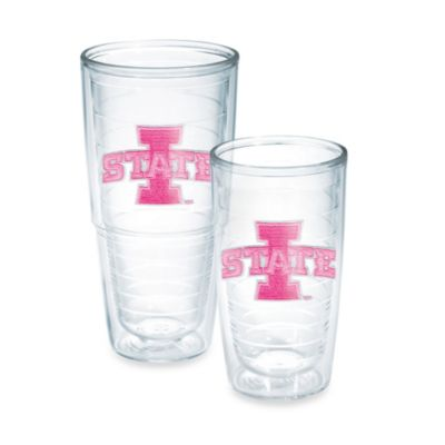 Tervis® Iowa State University 16-Ounce Emblem Tumbler in Neon Pink