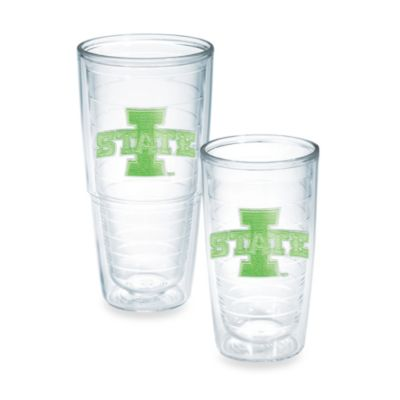 Iowa State University Tumbler in Neon Green