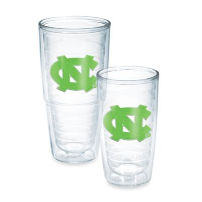 Tervis® University of North Carolina 16-Ounce Emblem Tumbler in Neon Green