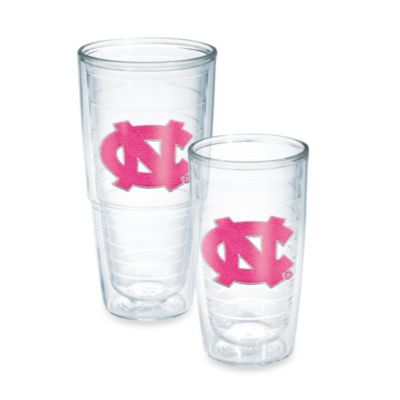 Tervis® University of North Carolina 16-Ounce Emblem Tumbler in Neon Pink