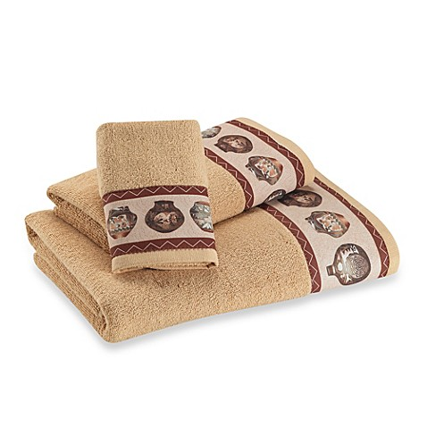 Buy decorative gold towels from bed bath beyond for Decorative bath towels