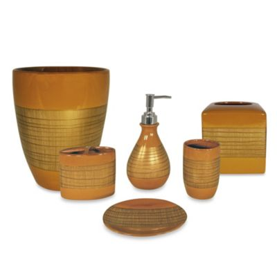Sedona Copper Bath Waste Basket