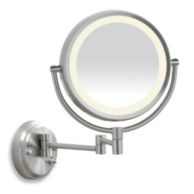 LED-Lit Wall Mount 1x/10X Mirror