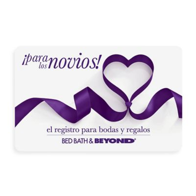Tying the Knot Gift Card $100.00 in Spanish