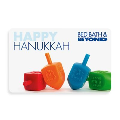 """HAPPY HANUKKAH"" Dreidels Gift Card $100"