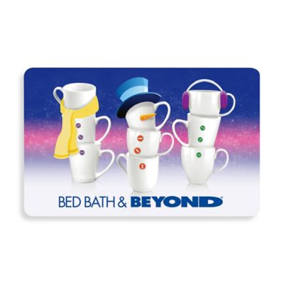 Teacup Snowmen Gift Card $100.00