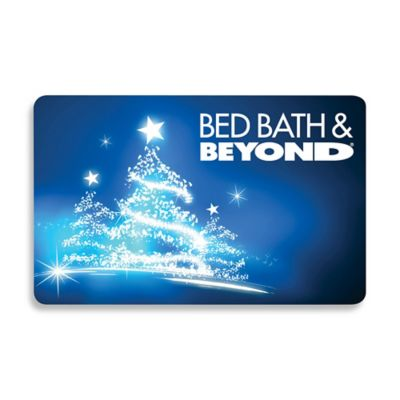 Glowing Christmas Tree Gift Card $100