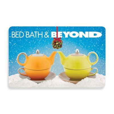 Mistletoe Teapots Gift Card $100