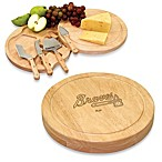 Picnic Time® Engraved MLB Atlanta Braves Circo Cheese Board Set