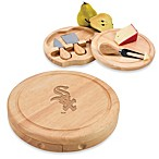Picnic Time® MLB Chicago White Sox Brie Cheese Board Set