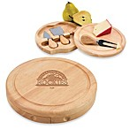 Picnic Time® MLB Colorado Rockies Brie Cheese Board Set