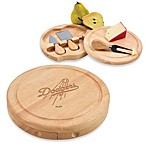 Picnic Time® MLB Los Angeles Dodgers Brie Cheese Board Set