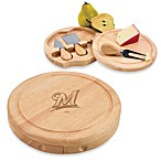 Picnic Time® MLB Milwaukee Brewers Brie Cheese Board Set