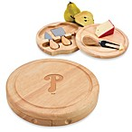 Picnic Time® MLB Philadelphia Phillies Brie Cheese Board Set