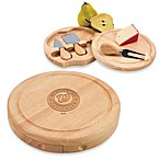 Picnic Time® MLB Washington Nationals Brie Cheese Board Set
