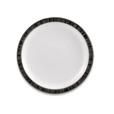 Striped Stoneware Plates