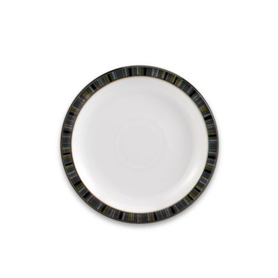 Denby Jet Stripes Salad Plate