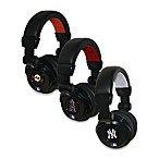 Major League Baseball iHip® DJ-Style Headphones with Inline Microphone