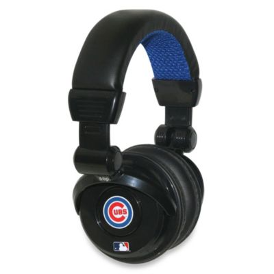 MLB Chicago Cubs iHip® DJ-Style Headphones with Inline Microphone
