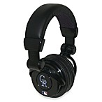 Colorado Rockies iHip® DJ-Style Headphones with Inline Microphone