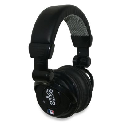 MLB Chicago White Sox iHip® DJ-Style Headphones with Inline Microphone