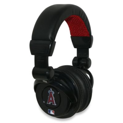 MLB Los Angeles Angels of Anaheim iHip® DJ-Style Headphones with Inline Microphone