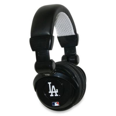 Los Angeles Dodgers iHip® DJ-Style Headphones with Inline Microphone