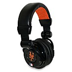 New York Mets iHip® DJ-Style Headphones with Inline Microphone
