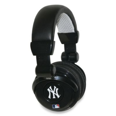 New York Yankees iHip® DJ-Style Headphones with Inline Microphone