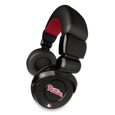 MLB Philadelphia Phillies iHip® DJ-Style Headphones with Inline Microphone