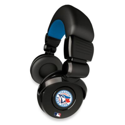 Toronto Blue Jays iHip® DJ-Style Headphones with Inline Microphone