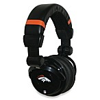 Denver Broncos iHip® DJ-Style Headphones with Inline Microphone