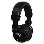 New England Patriots iHip® DJ-Style Headphones with Inline Microphone