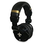 New Orleans Saints iHip® DJ-Style Headphones with Inline Microphone
