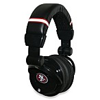 San Francisco 49ers iHip® DJ-Style Headphones with Inline Microphone